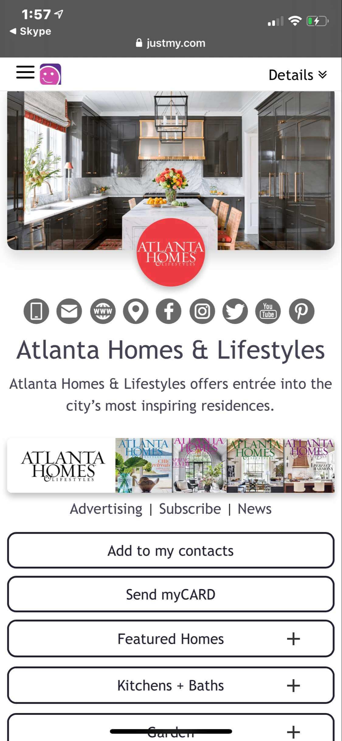 myCARD  |  Atlanta Homes & Lifestyles